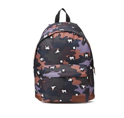 Camouflage Street Style Collaboration Backpacks