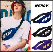 NERDY Casual Style Unisex Street Style Shoulder Bags