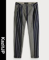 Scotch & Soda Printed Pants Stripes Patterned Pants