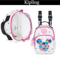 Kipling Casual Style Nylon Collaboration 3WAY Other Animal Patterns