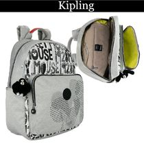 Kipling Casual Style Nylon Collaboration Other Animal Patterns