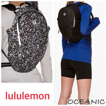 lululemon Flower Patterns Backpacks