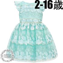 DAVID CHARLES LONDON on Celebrity【David Charles】Flower Girl Gown, lace,embroidery