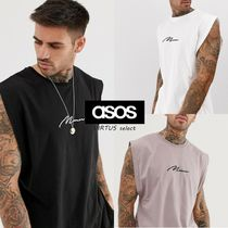 ASOS Crew Neck Sleeveless Cotton Vests & Gillets