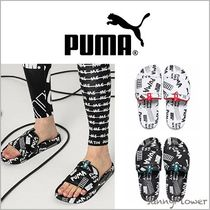PUMA Unisex Street Style Collaboration Leather Shower Shoes