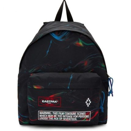 Unisex Street Style Collaboration Backpacks