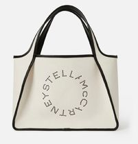Stella McCartney Casual Style Blended Fabrics A4 Totes