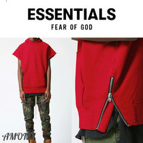 FEAR OF GOD ESSENTIALS Pullovers Street Style Short Sleeves T-Shirts