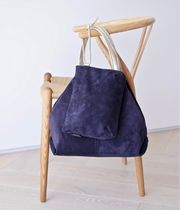 Brontibay Paris Blended Fabrics Bag in Bag A4 Leather Office Style
