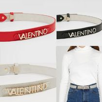 Mario Valentino Casual Style Plain Leather Belts