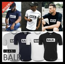 BALR Street Style Plain Short Sleeves T-Shirts