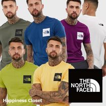 THE NORTH FACE Crew Neck Pullovers Street Style Cotton Crew Neck T-Shirts