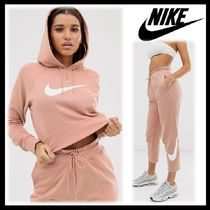 Nike Casual Style Sweat Blended Fabrics Street Style Long Sleeves