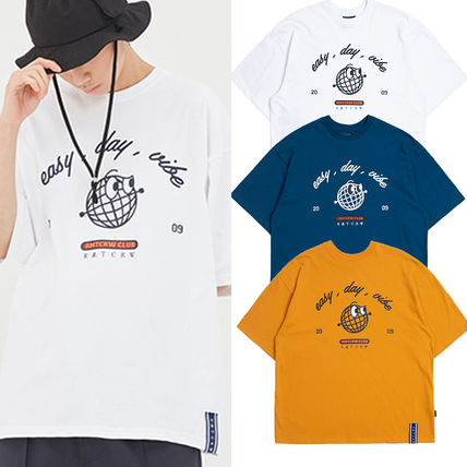 3898e8e707da ... ROMANTIC CROWN More T-Shirts Street Style Cotton Short Sleeves T-Shirts  ...