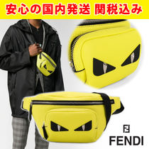 FENDI BAG BUGS 2WAY Leather Messenger & Shoulder Bags