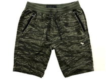 Abercrombie & Fitch Camouflage Sweat Shorts