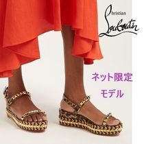 Christian Louboutin CATACLOU Casual Style Other Animal Patterns Sandals