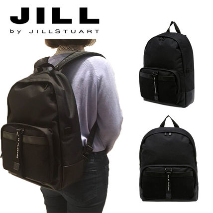Unisex A4 Plain PVC Clothing Backpacks