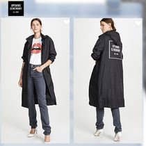 OPENING CEREMONY Nylon Plain Long Trench Coats