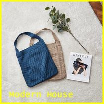 Modern House Totes
