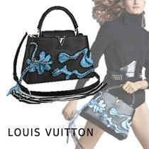 Louis Vuitton 2019-20AW ARTYCAPUCINES PM NICHOLAS HLOBO black blue bag