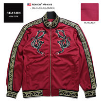 REASON Unisex Street Style Other Animal Patterns Oversized