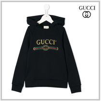 GUCCI Unisex Street Style Kids Girl Tops