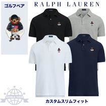Ralph Lauren Plain Cotton Short Sleeves Polos