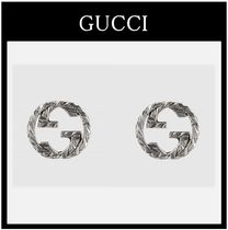 GUCCI Street Style Silver Earrings