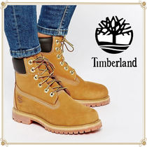 Timberland Casual Style Street Style Plain Leather