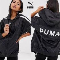 PUMA Casual Style Street Style Medium Oversized Outerwear