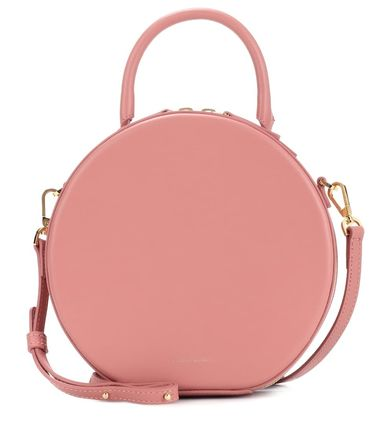 Casual Style 2WAY Plain Leather Crossbody Small Shoulder Bag