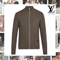 Louis Vuitton Other Check Patterns Blended Fabrics Cotton Cardigans
