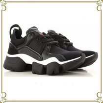 GIVENCHY Round Toe Rubber Sole Casual Style Low-Top Sneakers