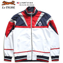Le TIGRE Street Style Bi-color Oversized Track Jackets