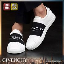 GIVENCHY Unisex Street Style Plain Leather Sneakers