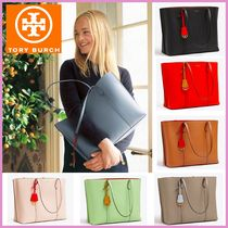 Tory Burch PERRY A4 Plain Office Style Totes
