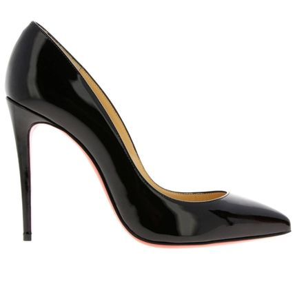 Christian Louboutin Pigalle Follies Enamel Plain Pin Heels Formal Style  Stiletto Pumps & Mules