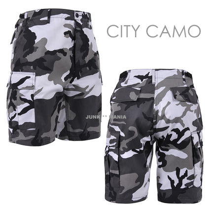 ROTHCO Printed Pants Camouflage Street Style Cotton Shorts