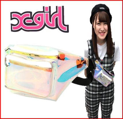 Casual Style PVC Clothing Bags