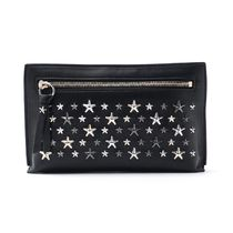 Jimmy Choo Star Unisex Studded Bag in Bag Leather Elegant Style