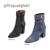 Jeffrey Campbell Casual Style Street Style Plain Chunky Heels