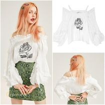 ELF SACK Casual Style Street Style Tops