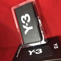 Y-3 Street Style Leather iPhone X Logo Smart Phone Cases