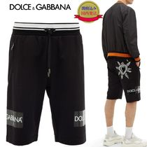 Dolce & Gabbana Sweat Plain Joggers Shorts