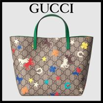 GUCCI GG Supreme Petit Kids Girl Bags