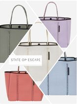 State of Escape Casual Style Bag in Bag A4 Plain Handmade Totes