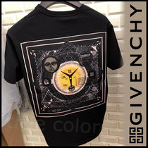 GIVENCHY Street Style Plain Cotton Short Sleeves T-Shirts