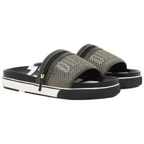 DIESEL Street Style Bi-color Shower Shoes Shower Sandals