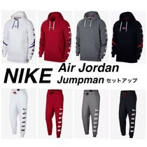 Nike AIR JORDAN Street Style Top-bottom sets